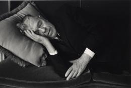 Magritte Asleep, 1965, 11 x 14 Silver Gelatin Photograph, Ed. 25