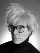 Andy Warhol With Glasses, NYC, 1986