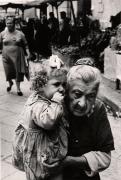 La Nonna, Naples, 1961, 11-9/16 x 8 Vintage Silver Gelatin Photograph