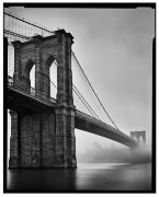 Brooklyn Bridge, New York, NY, 2007, 20 x 16 inches, Silver Gelatin Photograph, Ed. of 25