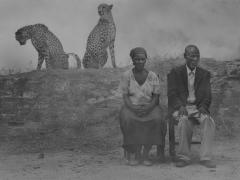 Regina, Jack, Levi and Diesel, Zimbabwe, 2020