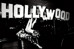 Hollywood, (Evan Rachel Wood), 2011, 16 x 20 Silver Gelatin Photograph, Ed. 15