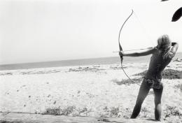 Jane Fonda (target practice beach), Malibu, 1965, Archival Pigment Print