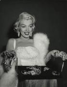 Marilyn Monroe (Holding Diamonds), 1953, 14 x 11 Silver Gelatin Photograph