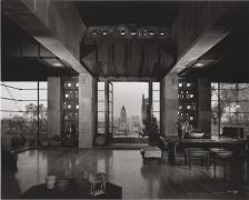 Freeman House, Frank Lloyd Wright, Los Angeles, California, 1953