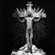 Black Jesus, 1989, Vintage Silver Gelatin Photograph