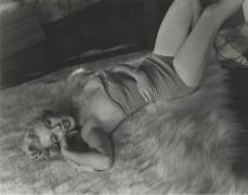 Marilyn Monroe (Lying on Fur Rug - Full-length), 1953, 8 x 10 RC Print