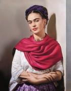 Frida Kahlo, 1939, 22 x 17-1/2 Carbon Pigment Color Print, Ed. 30