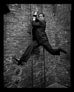 Jerry Seinfeld, New York, NY, 2005, 20 x 16 inches, Silver Gelatin Photograph, Ed. of 25