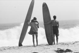 Malibu, 1964 Silver Gelatin Photograph