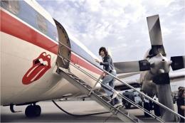 Mick Jagger, (boarding plane), USA, 1972, C-Print