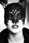 Mask, Paris, 1991, 20 x 16 Silver Gelatin Photograph, Ed. 15