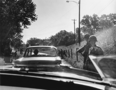 Soldiers directing the way to Oxford, Mississippi, n.d., Archival Pigment Print
