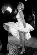 Marilyn & Billy, New York City, 1954, Silver Gelatin Photograph