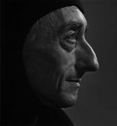 Jacques Cousteau, 1972, 20 x 16 Silver Gelatin Photograph