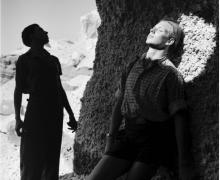 Light and Shadow, Liguria, Italy, 1936, Silver Gelatin Photograp