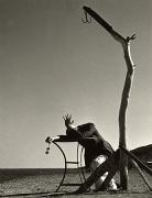 Mise en scene with George Hoyningen-Huene, Glyphada, 1939, 40cm x 30cm Silver Gelatin Photograph