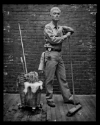 David Byrne, New York, NY, 2005, 20 x 16 inches, Silver Gelatin Photograph, Ed. of 25