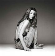 Kate Moss, New York, 1992, 24 x 20 Selenium Toned Silver Gelatin Photograph, Ed. 20