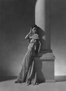 Toto Koopman, Evening Dress by Vionnet, 1934, 20 x 16 Platinum Palladium on 24 x 20 Paper, Ed. 27