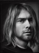 Kurt Cobain, Kalamazoo, MI, 1993, Silver Gelatin Photograph
