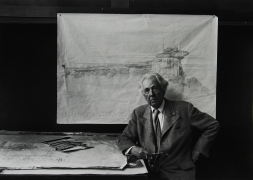 Frank Lloyd Wright, Taliesin East, Wisconsin, 1947, Silver Gelatin Photograph