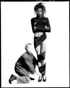 Azzedine Alaia and Naomi Campbell, Paris, 1987