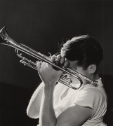Chet Baker, New York City, 1956, 14 x 11 Silver Gelatin Photograph