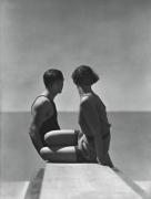 George Hoyningen-Huene The Divers (Horst And Model, Swimwear by Izod), 1930