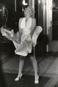 "Marilyn Monroe, ""Seven Year Itch"" Set, New York, 1955, 17 x 14 Silver Gelatin Photograph"