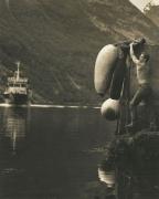 Oystein, Geiranger Fjord, Norway, 1998, Silver Gelatin Photograph