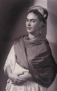 Frida Kahlo, The Breton Portrait, 1939, 14-3/4 x 11-3/4 Carbon Pigment Print, Ed. 30