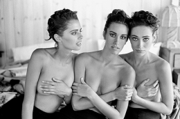 Heather Whyte, Susan Holmes, and Irene Pfeiffer, Watermill, NY, 1991