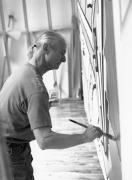 Roy Lichtenstein, 1993, 20 x 16 Selenium Toned Silver Gelatin Photograph, Ed. 20