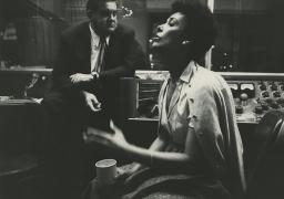 Lena Horne Recording Session, 1957