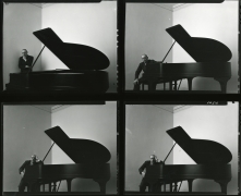 Igor Stravinsky, New York City (Contact Print of 4 Images), 1946