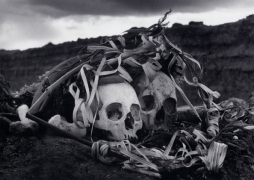 Polvo serán, mas polvo enamorado (Dust they become, but dust in love), Bolivia, 1990, 11 x 14 Silver Gelatin Photograph