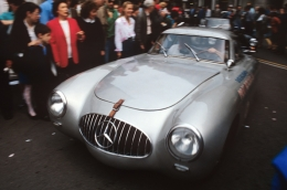 Mercedes-Benz 300 SL Competition Body, Mille Miglia, Historic Brescia, Italy, 1998