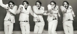 """Steve Martin, """"Let's Get Small Sequence,"""" Los Angeles, 1974, Combined Edition of 50 Photographs:"""