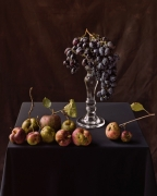 Apples and Grapes, 2006, 36-1/2 x 30-1/4 Color Archival Pigment Print, Ed. 10