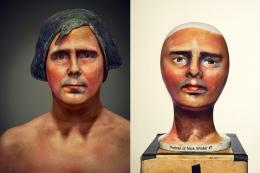 Hockney, Portrait of Nick Wilder (Nick Wilder), 2016, Archival Pigment Print