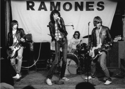 Ramones, Showcase, 1975, Silver Gelatin Photograph