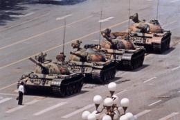 Jeff Widener Tiananmen Square, 1989
