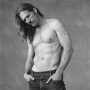 Jeff Bridges on the set of American Heart, Seattle, Washington, 1991, Silver Gelatin Photograph