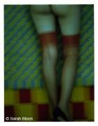 Fashion 7, Stockings, 1997, 29-1/8 x 22-1/2 Color Carbon Photograph, Ed. 15