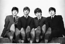 The Beatles, Paris, March 1964, C-Print