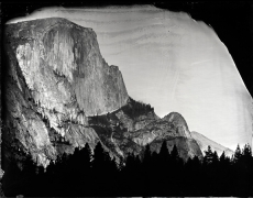 Half Dome, Yosemite, Unique Collodion Wet Plate: please contact the gallery for details