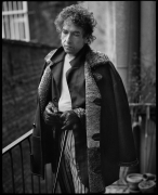 Bob Dylan, New York, NY, 1995, 20 x 16 inches, Silver Gelatin Photograph, Ed. of 25