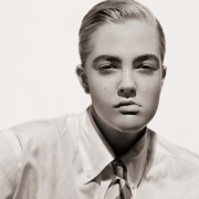 Drew Barrymore, Portrait as a Boy, Los Angeles, 1991, Archival Pigment Print