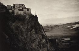 Shekar Monastery and Valley, Tibet, 1993, 11-1/8 x 16-3/4 Platinum Photograph, Ed. 25